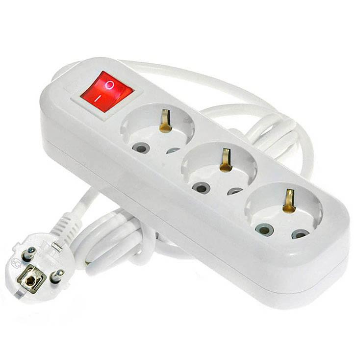 купить удлинитель с выключателем